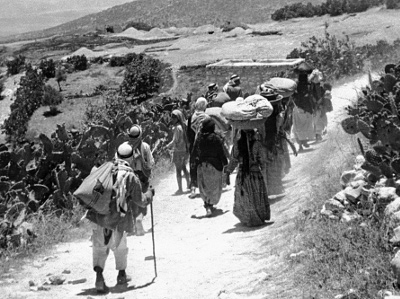 Nakba, 1948 - Photo : Archives