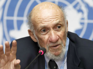 Richard Falk - Photo : ONU