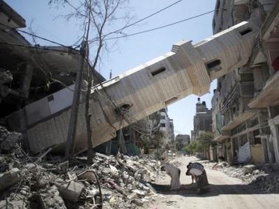 Rien n'aura été épargné dans les bombardements israéliens... Pas même les édifices religieux (file)