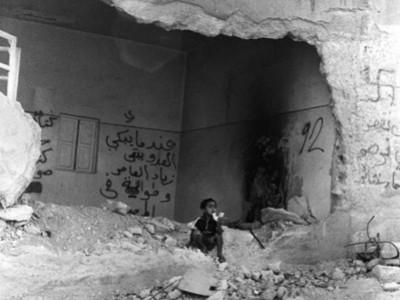 Camp de réfugiés de Jénine - Mai 2002