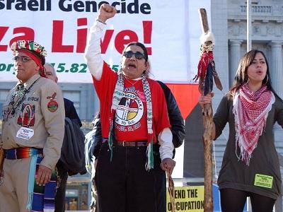Amérindiens et Palestiniens