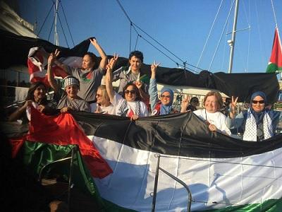 """Bateau """"Femmes pour Gaza"""""""