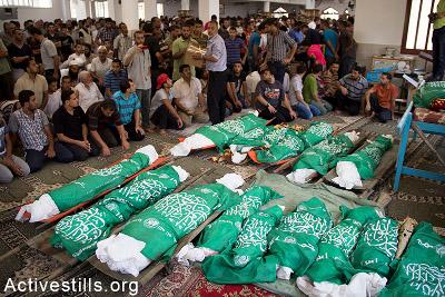 Gaza - Juillet/Août 2014