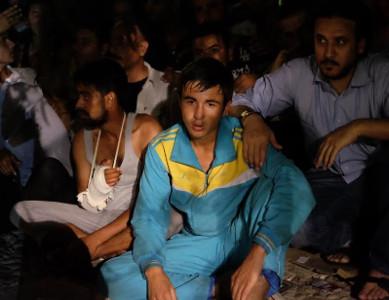 Réfugiés syriens - Kos 2015