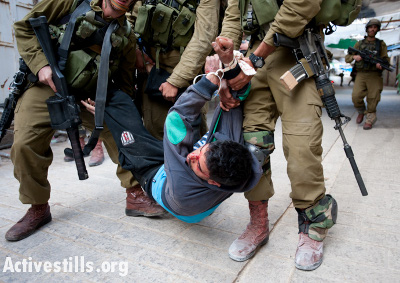 Violence forces israéliennes d'occupation