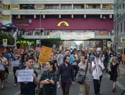 Manifestation Berlin - juillet 2014