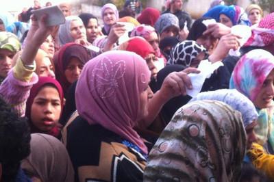 Réfugiées syriennes