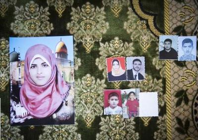 Famille al-Louh - Deir al-Balah- Photo : Anne Paq