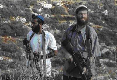 Colons - Cisjordanie occupée