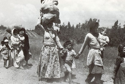 Nakba 1948 - Photo : Archives
