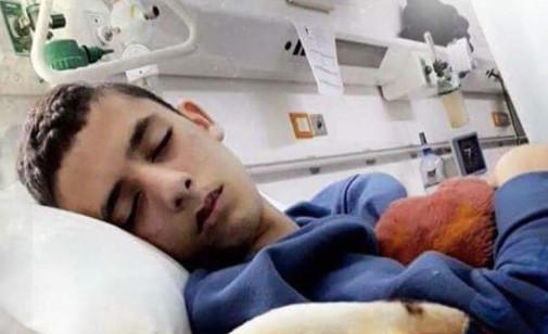 Hassan Mizheir, au Mizan Hôpital à Hébron