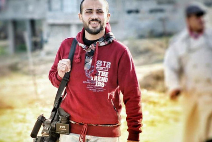 Ahmed Abu Hussein - Photo : twitter