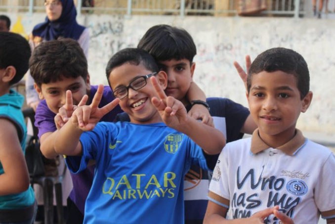 Photo : Gaza Children Cinema