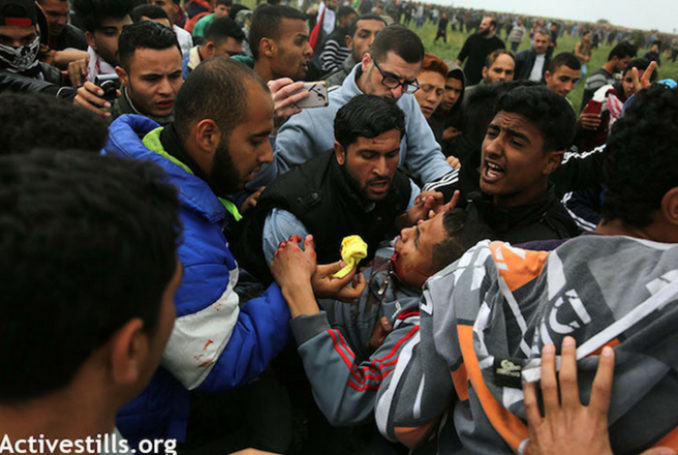 Grande Marche du retour - Gaza - Photo: ActiveStills