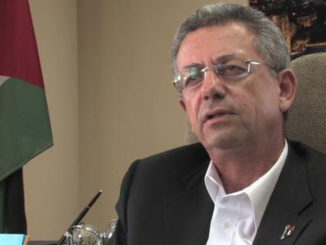 Mustafa Barghouti, secrétaire général du Palestinian National Initiative - Photo : via Info-Palestine.eu
