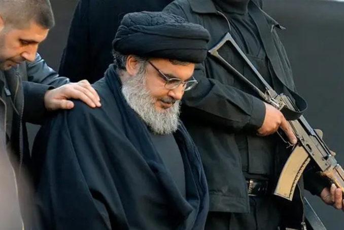 Hassan Nasrallah, Secrétaire général du mouvement Hezbollah [résistance libanaise] - Photo : Archives