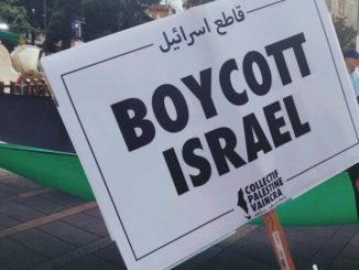 Photo : via Collectif Palestine Vaincra