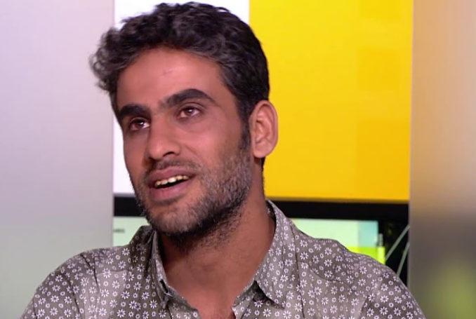 Le réalisateur palestinien Iyad Alasttal : capture vidéo